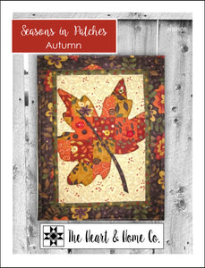 HNH08 Seasons In Patches  Autumn Paper Pattern