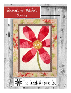 HNH02 Seasons In Patches Spring Paper Pattern