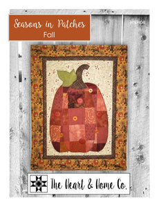 HNH04 Seasons In Patches Fall Paper Pattern