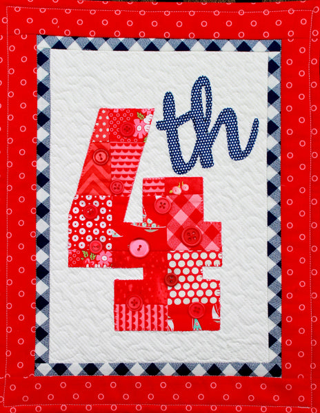 HNH50 Seasons in Patches Happy 4th! Paper Pattern
