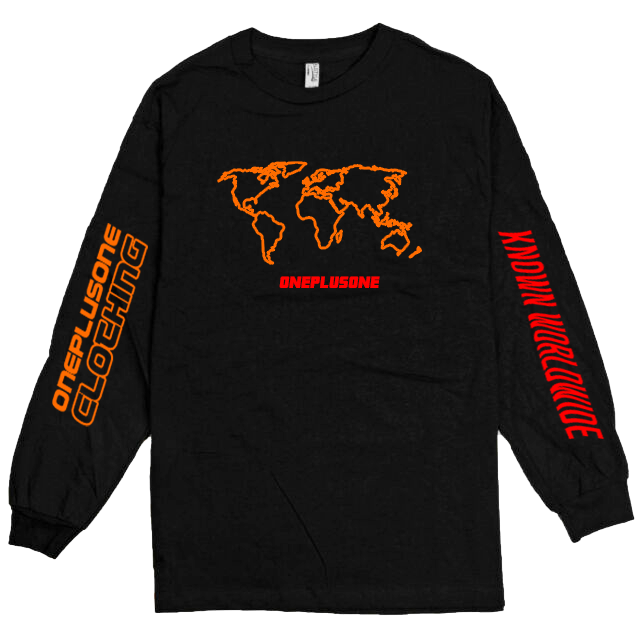 Global Longsleeve Tee - Red