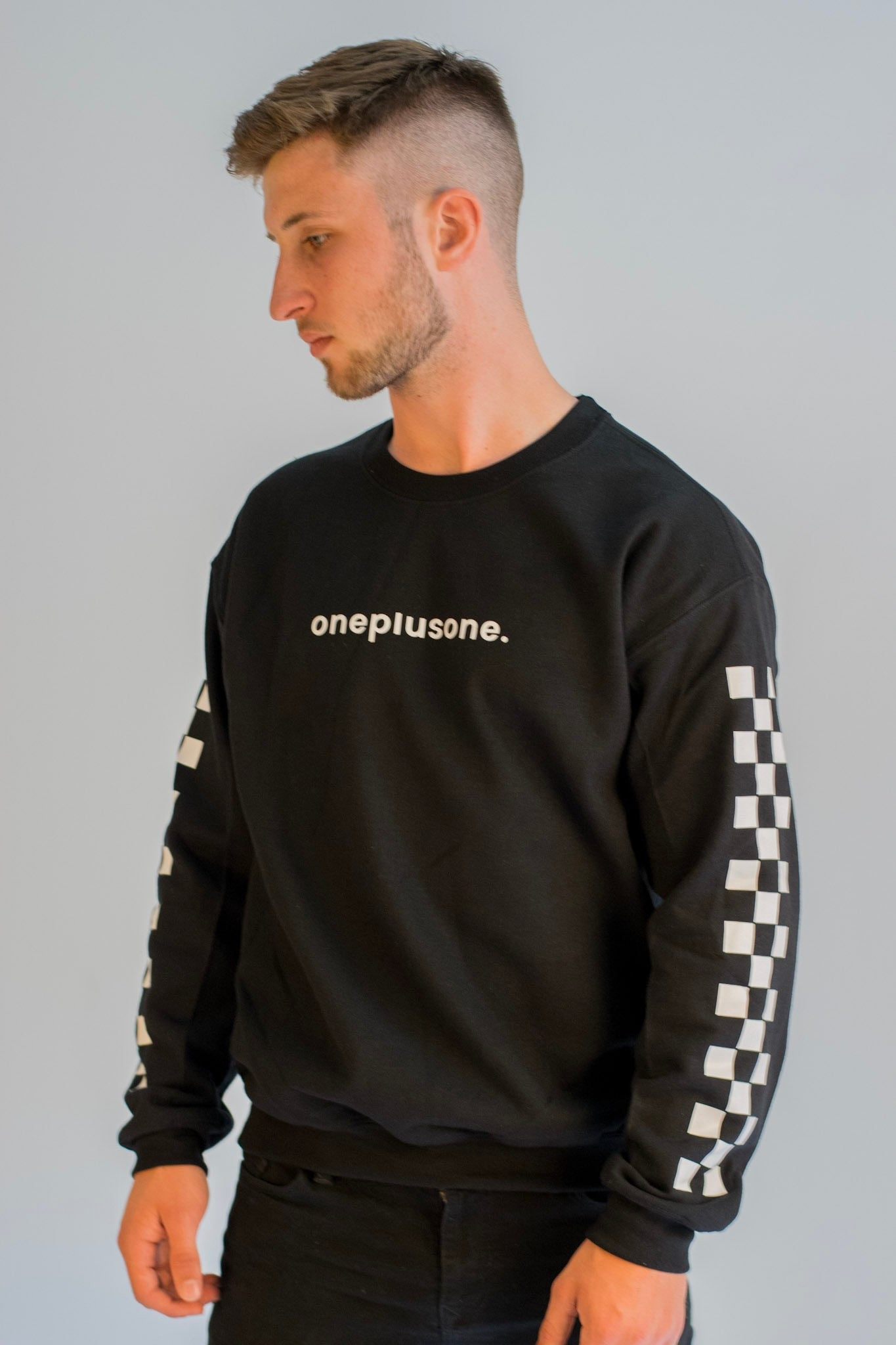 Black Racertrack Sweatshirt