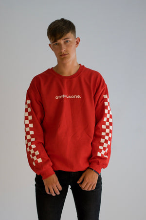 Red Racertrack Sweatshirt