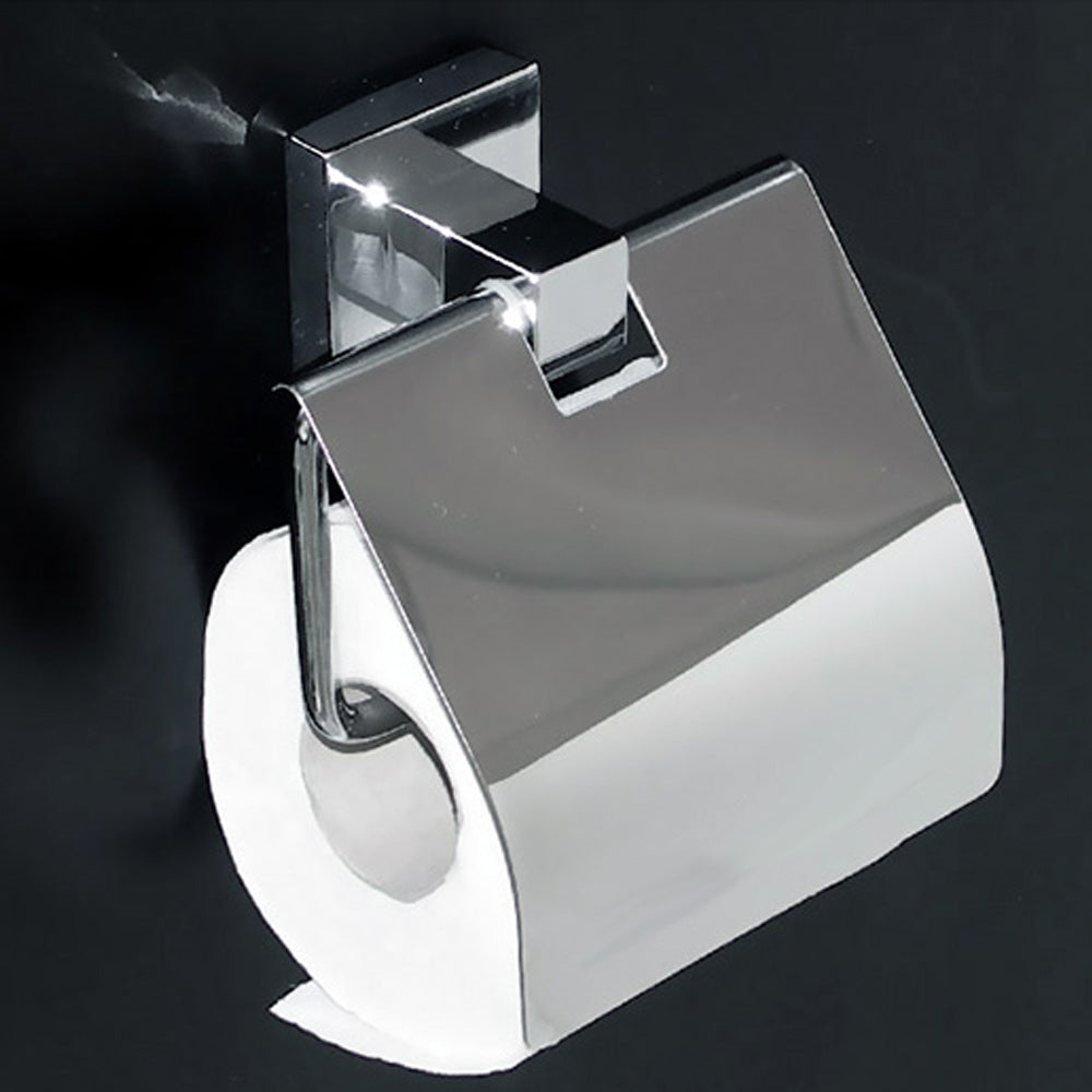 Cubito 12 wall hung toilet roll holder