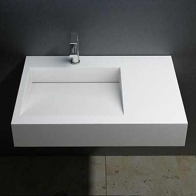Durovin Colossum 11 one tap hole, rectangle sleek designed basin sink.