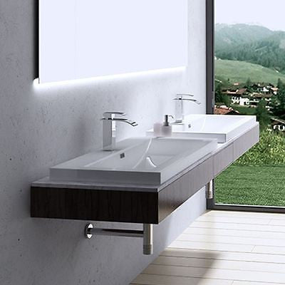 Recessed basin Colossum 01 765mm stone solid resin