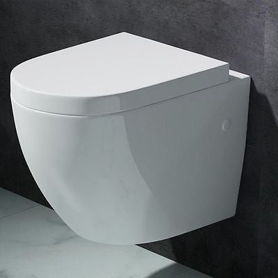 Aachen 376 Wall Hung Toilet With Soft Close Seat (C27)