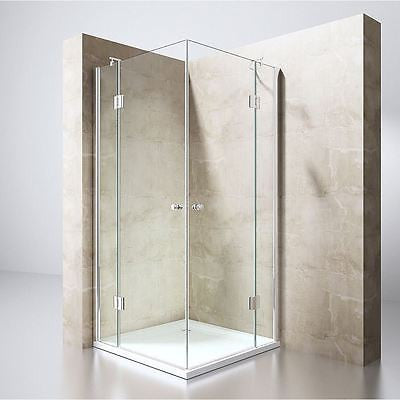 Ravenna 1 Hinged Shower Door Durovin Bathrooms