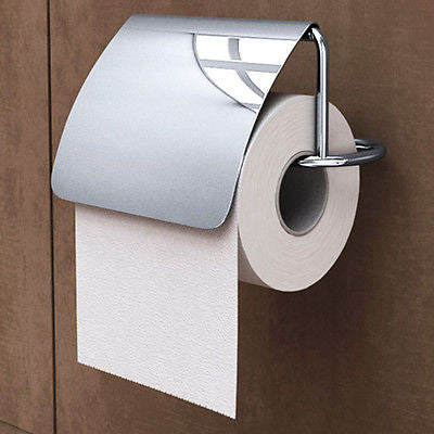 MMA1706 Designer Chrome Toilet Roll Holder