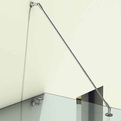 Modern Over door glass canopy