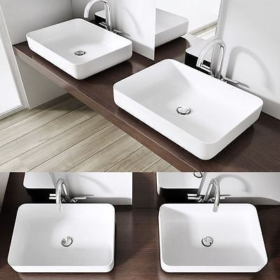 rectangle counter top wash basin