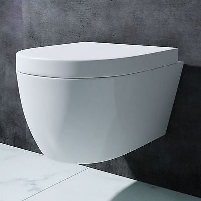 Aachen 106 Wall Hung Toilet With Soft Close Seat (C24)