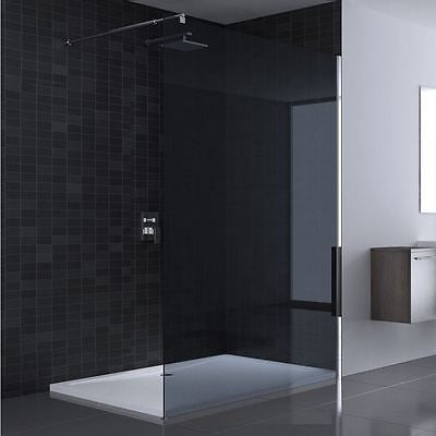 BR7003 Walk In Shower Screen   Dark GlassModern Walk in Shower Screens   Tinted  frosted and clear  . Modern Walk In Bathrooms. Home Design Ideas