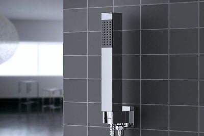 Chrome Thermostatic 2 Way Mixer Shower Square Valve