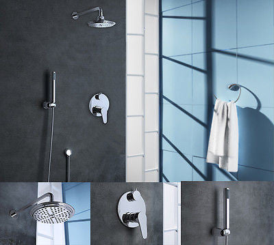Twin Thermostatic Shower Mixer 2 Way Valve
