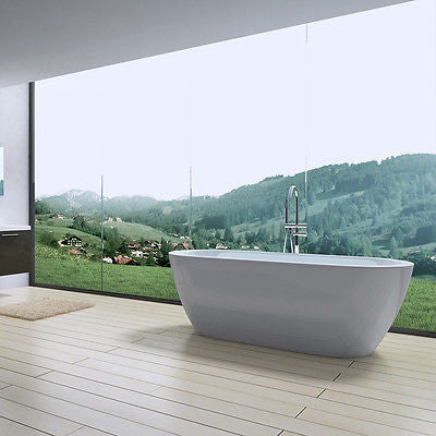 oval bath tub freestanding modern designer