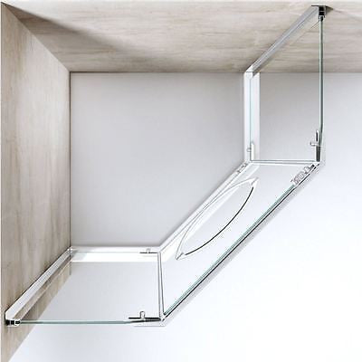 Modern compact shower enclosure