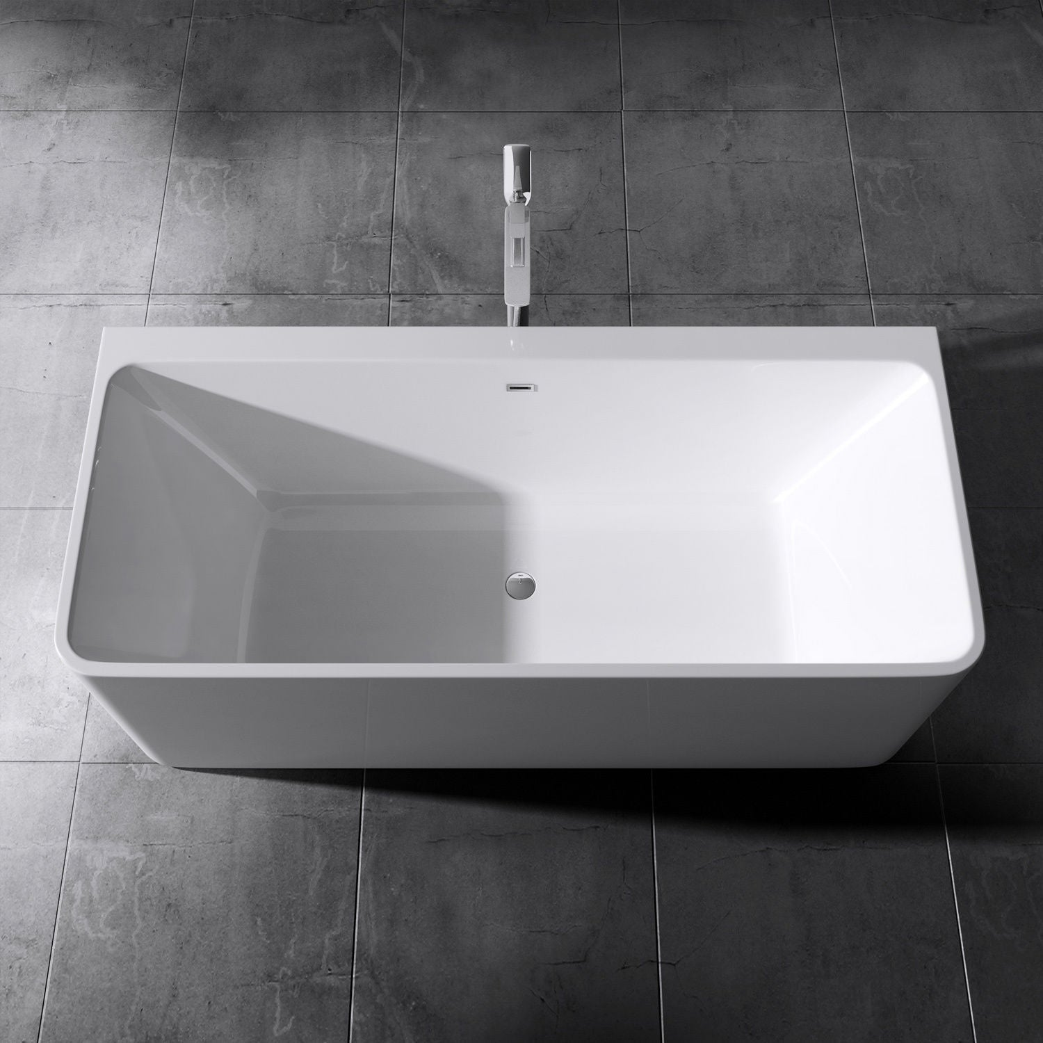 Vicenza 601-OA freestanding acrylic bath tub