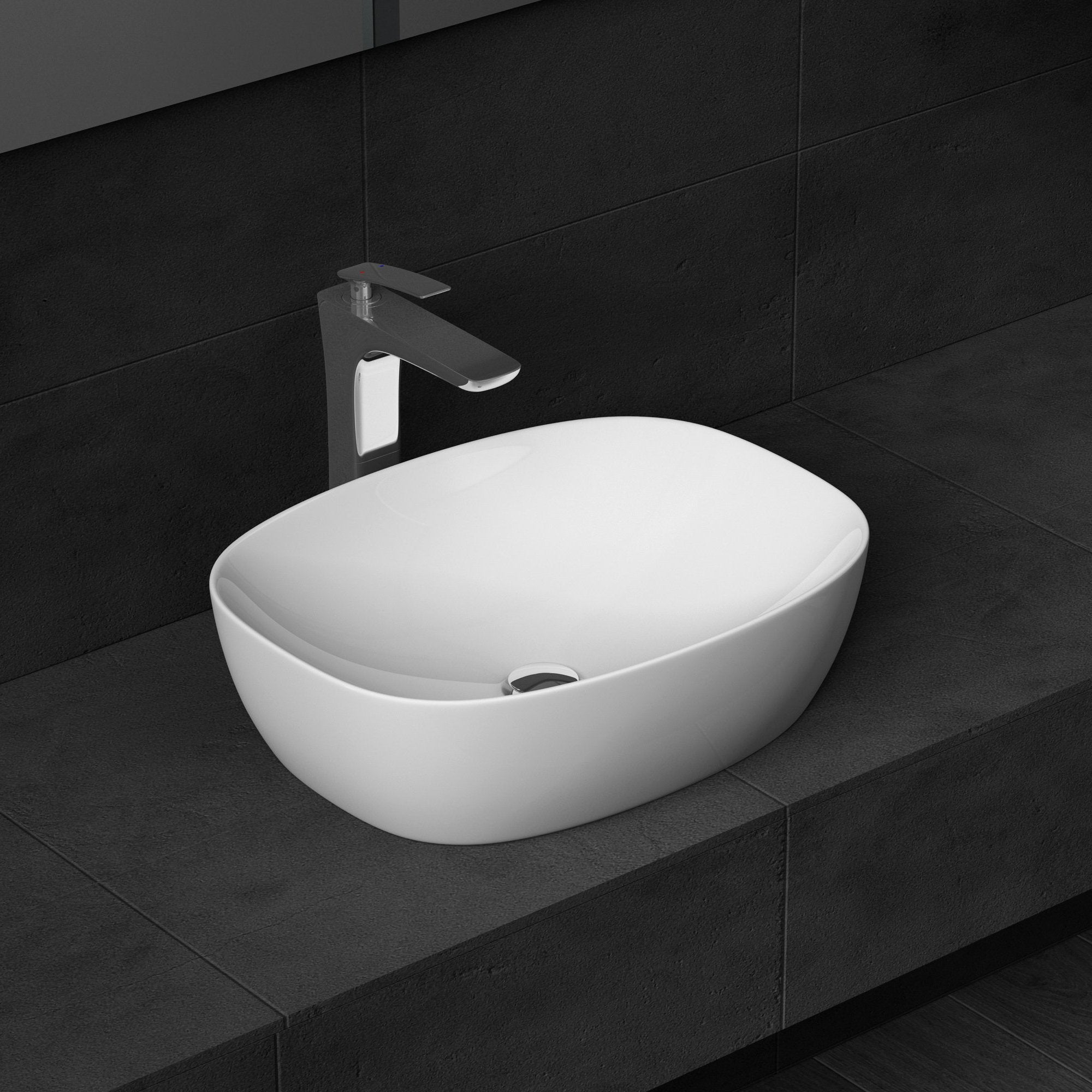 New Design Counter Top Ceramic Bathroom Basin Durovin Bathrooms Uk
