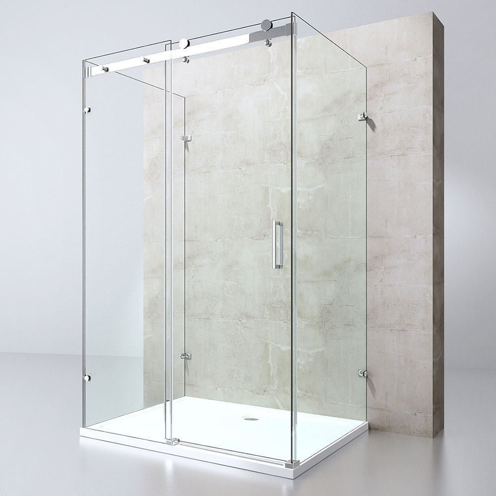 Ravenna 17-2nd U | Sliding Door Shower | Durovin Bathrooms