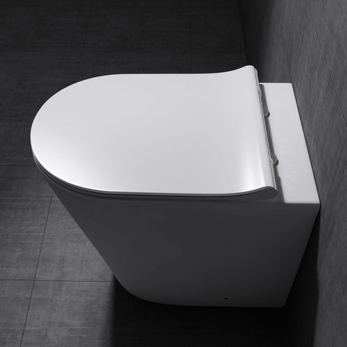 Aachen 3178 Back To Wall Toilet With Soft Close Seat (C46)