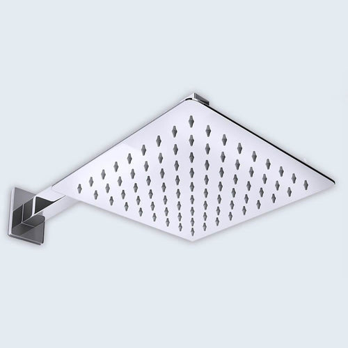826W 200mm Square Ultra Thin Shower Head Range (B01)