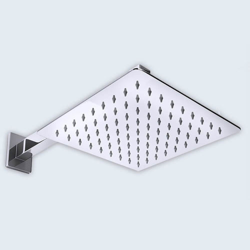 826W 250mm Square Ultra Thin Shower Head Range (B03)