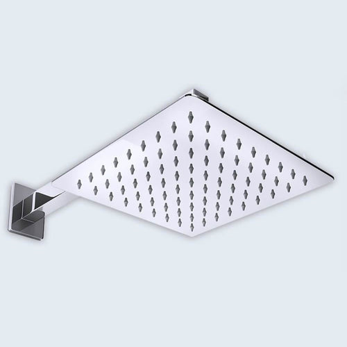 826W 350mm Square Ultra Thin Shower Head Range (B52)