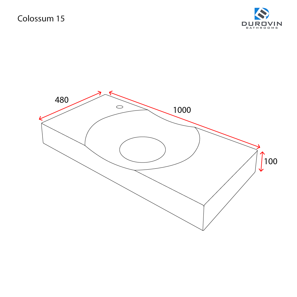 Colossum 15 technical dimensions
