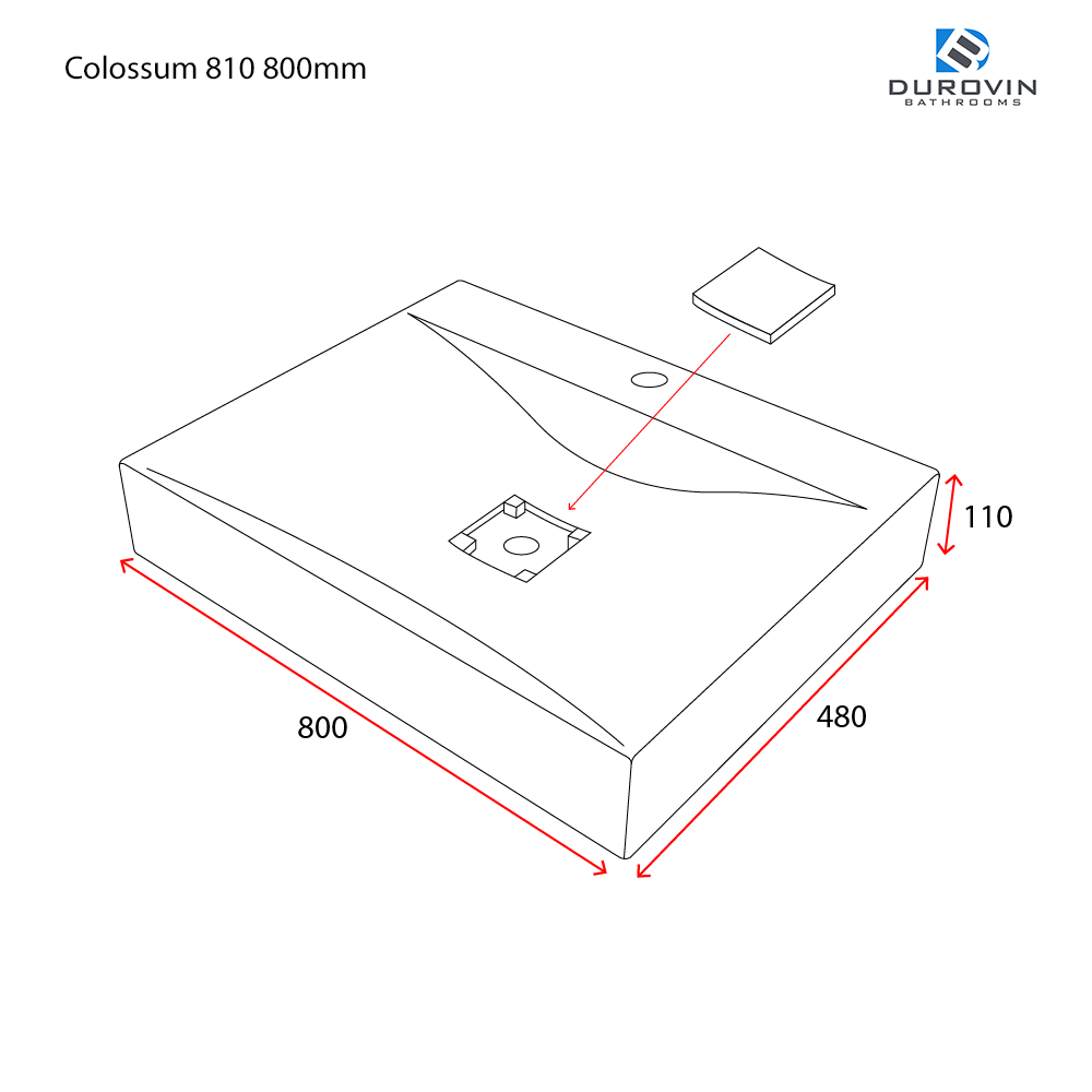 Colossum 810 technical dimensions