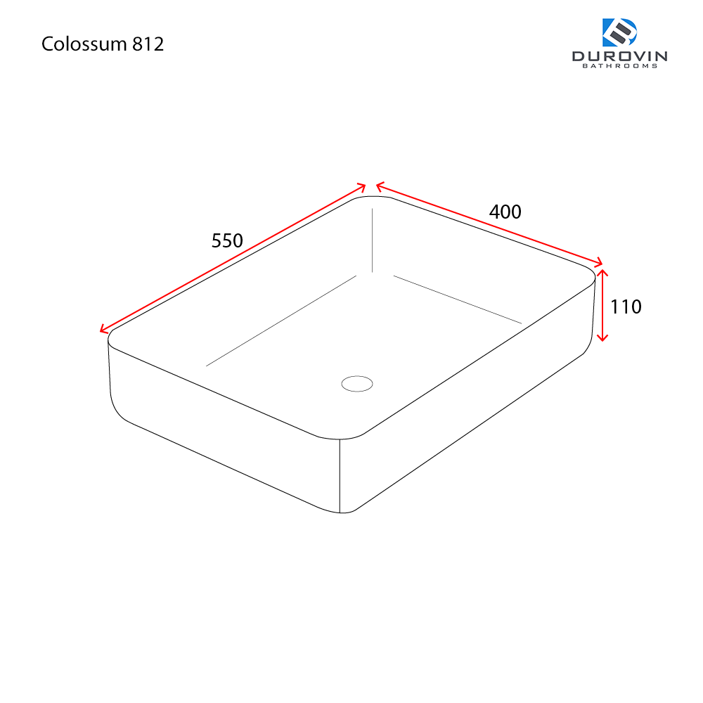 Colossum 812 technical dimensions