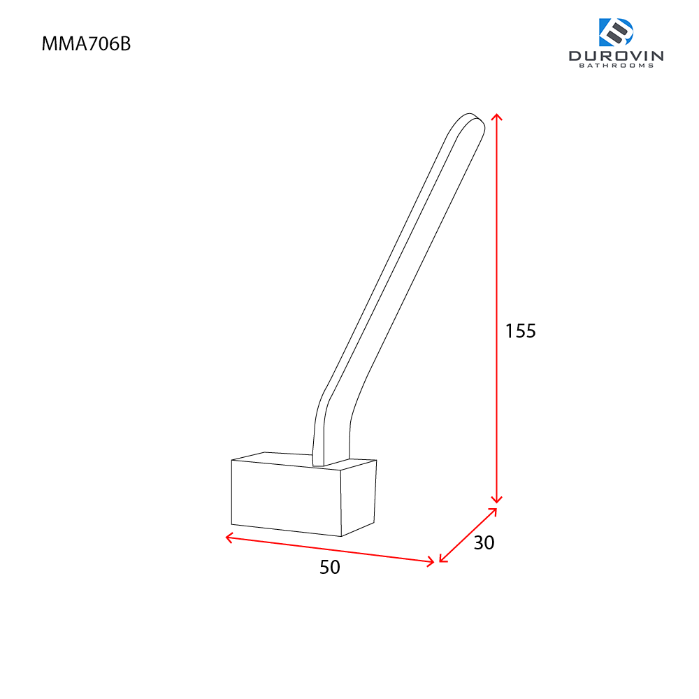 MMA706B technical dimensions