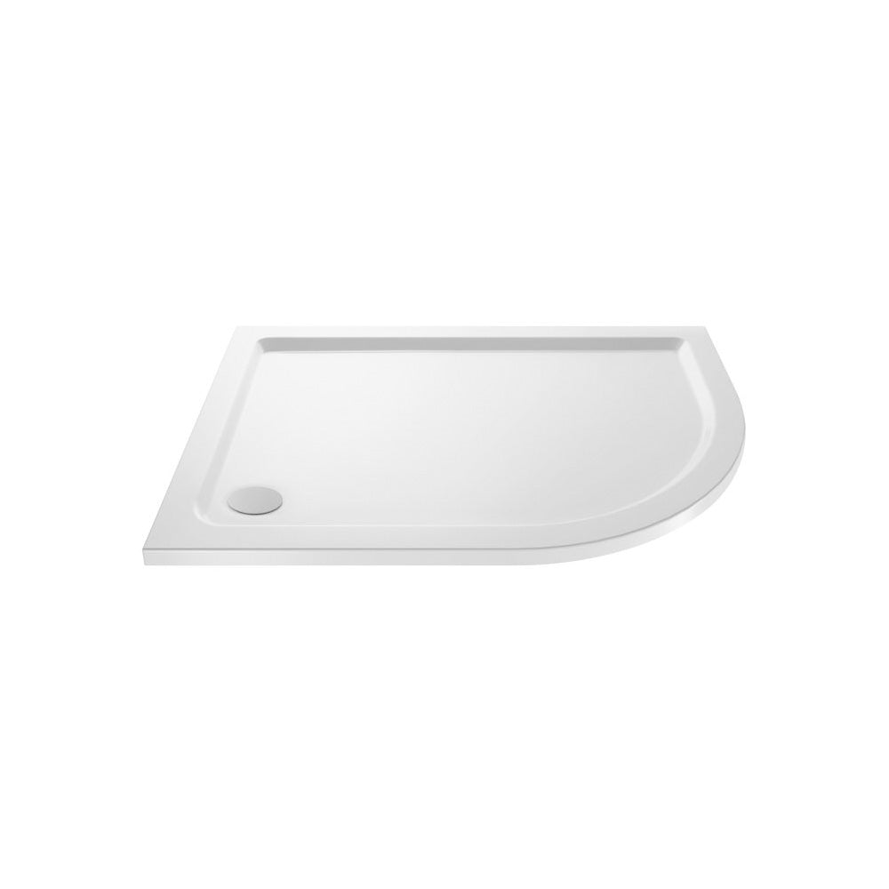 Durovin 1200mmx900mm RH Stone Offset Quadrant Shower Tray