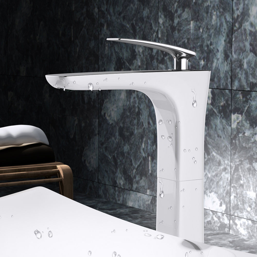 Francfort 1298w High single lever bathroom tap