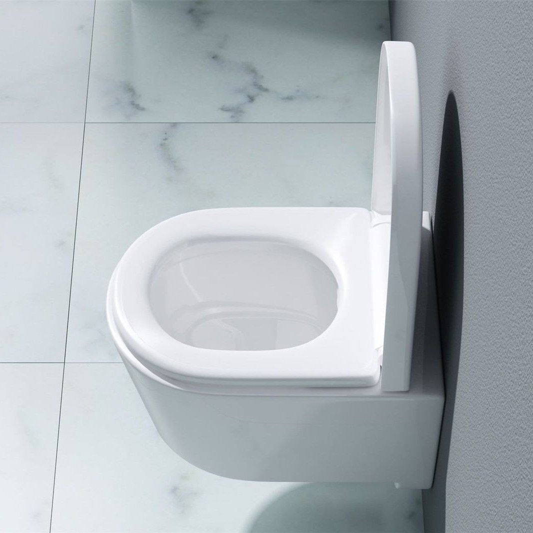 Modern Wall Hung Ceramic Cloakroom Toilet