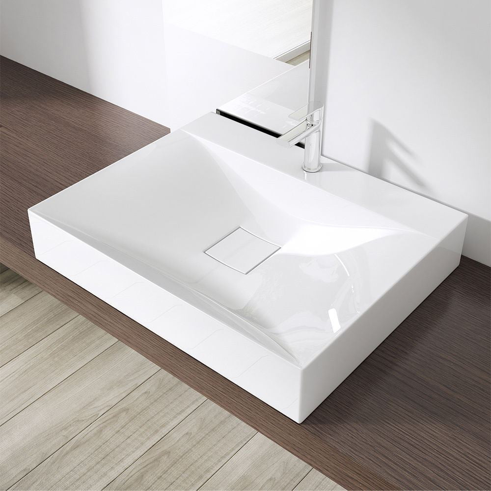 Rectangle modern wash basin