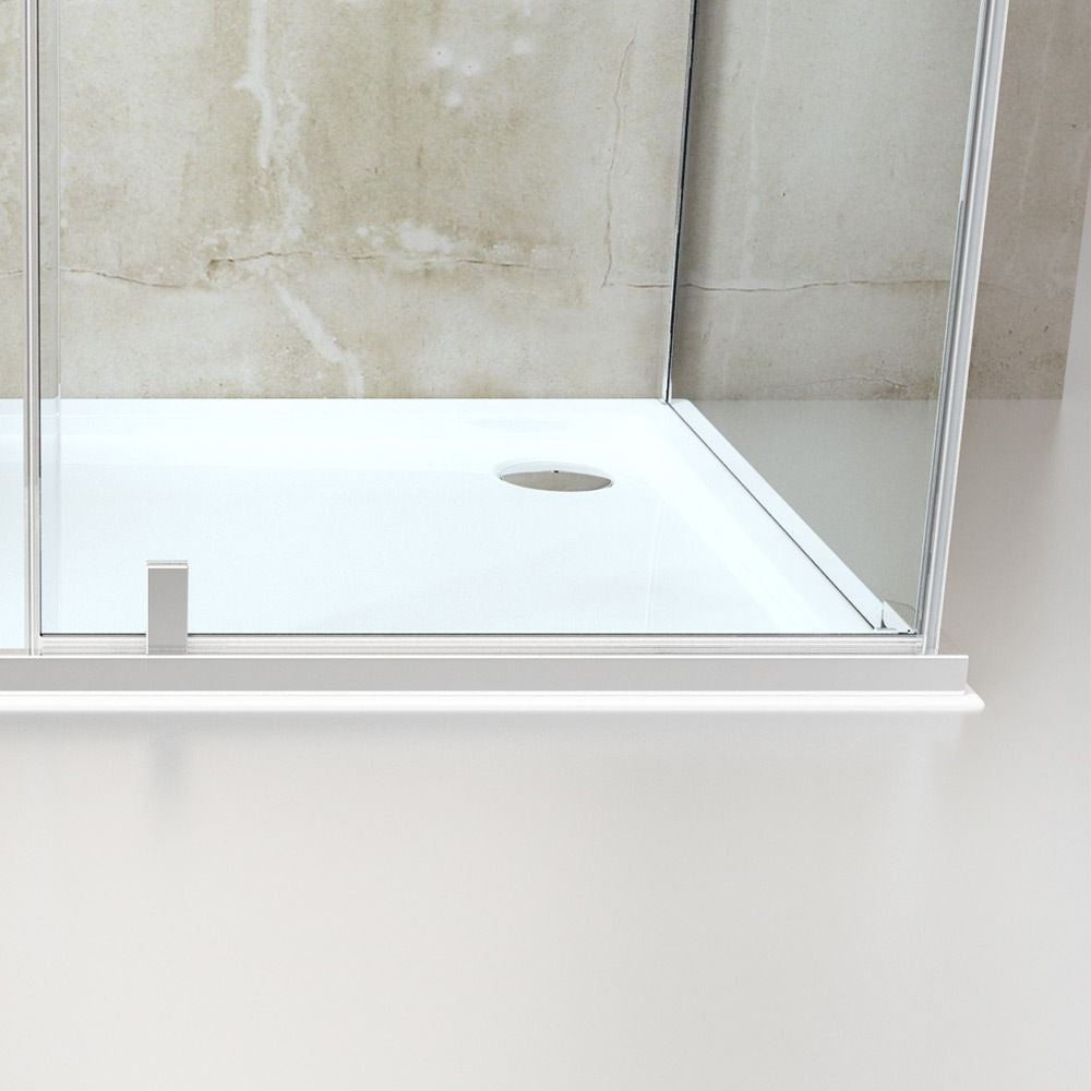 Pivot Shower Enclosure With Side Glass