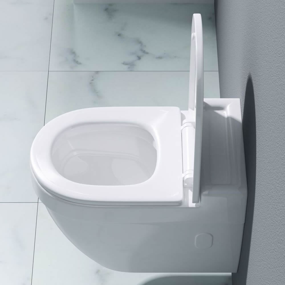 Modern Wall Hung Ceramic Toilet