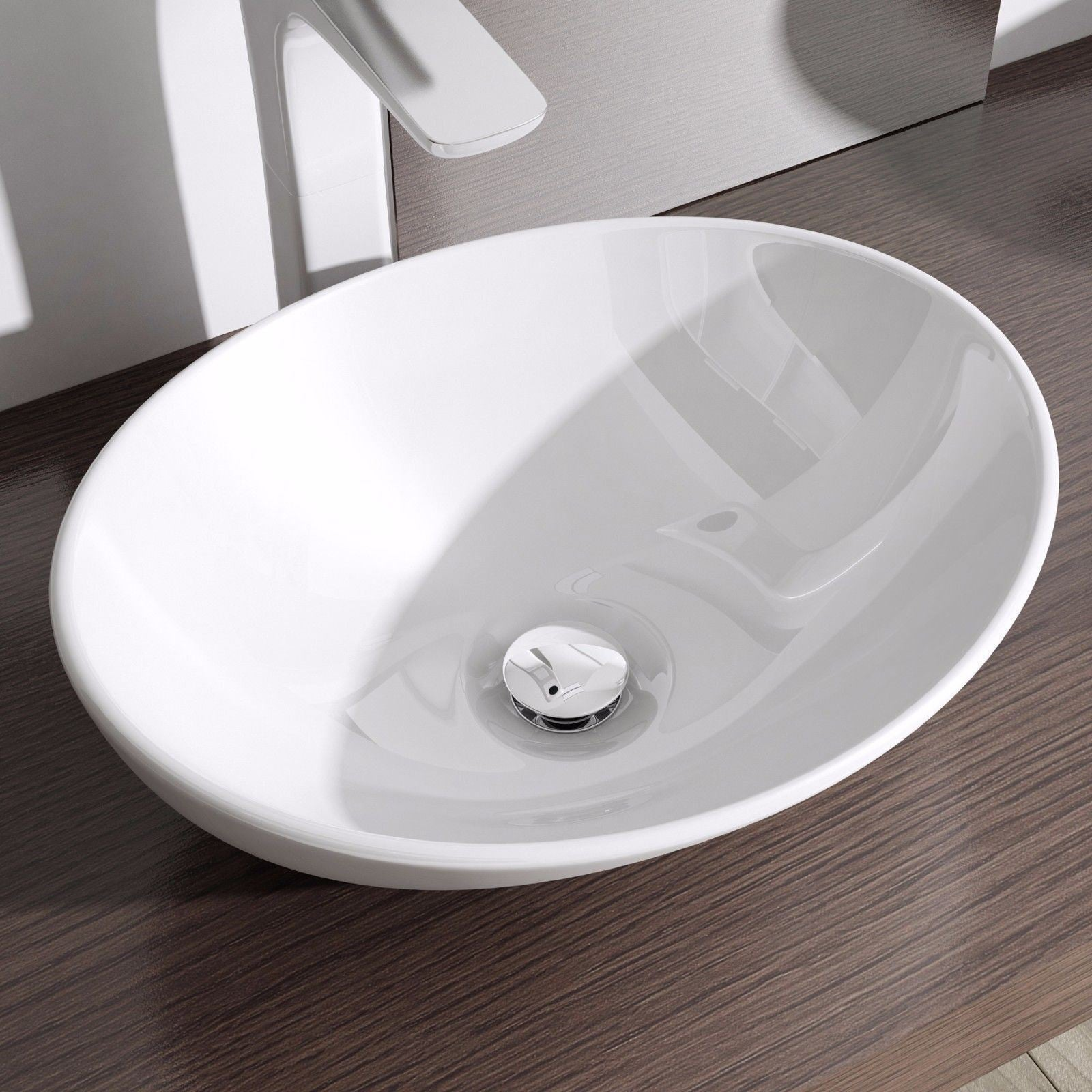 oval ceramic modern wash basin by durovin