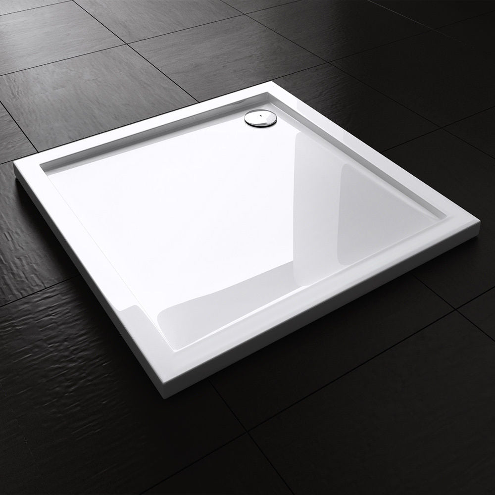 Lucia Square Acrylic Shower Tray Durovin Bathrooms
