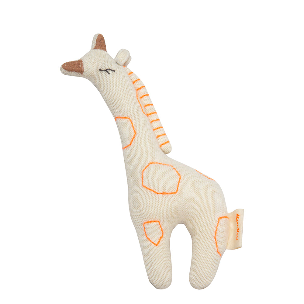 Meri Meri Giraffe Baby Rattle - Cute Baby Gifts - The Baby Service