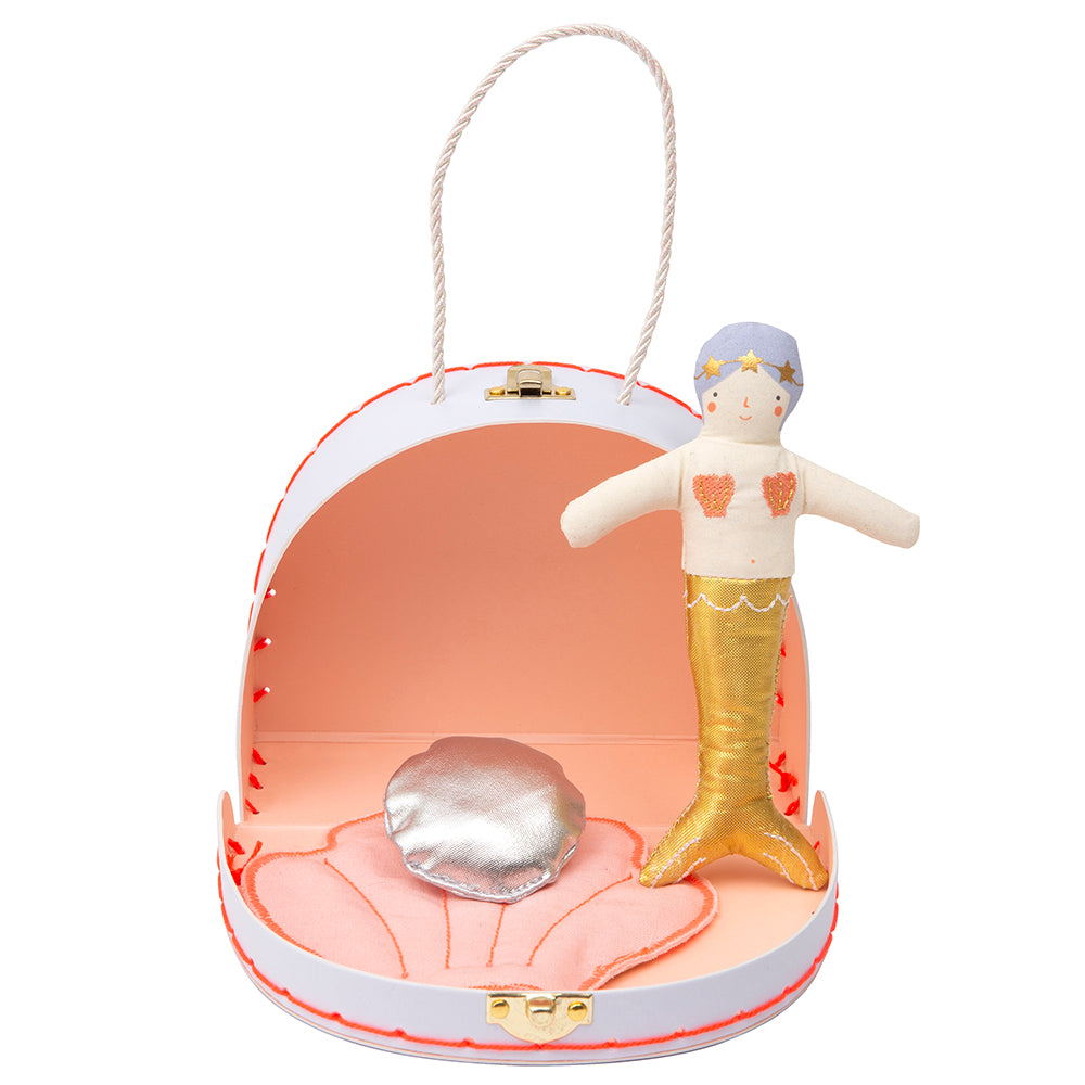 Meri Meri Mermaid Mini Suitcase Doll - Cute Girls Gifts - The Baby Service