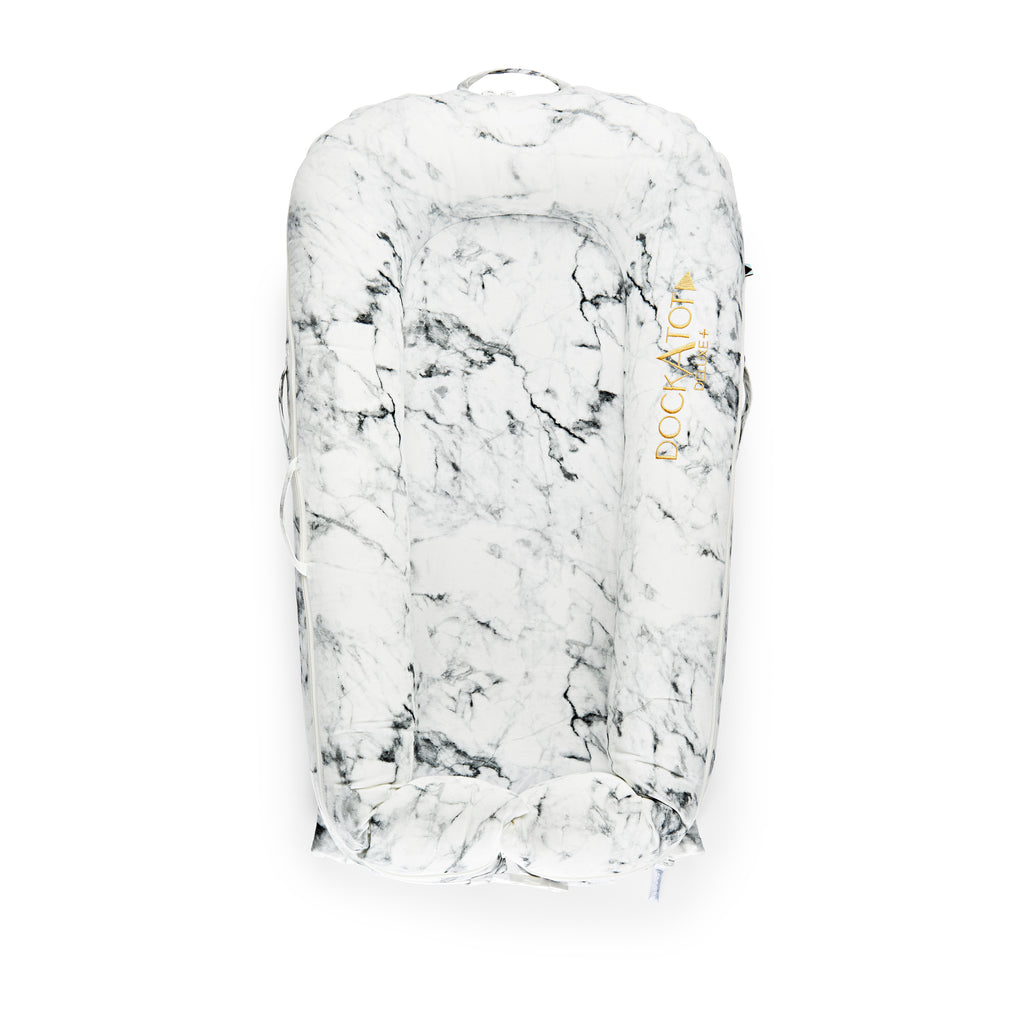 DockATot Deluxe + Plus Pod Extra Cover in Marble - Sleepyhead - The Baby Service