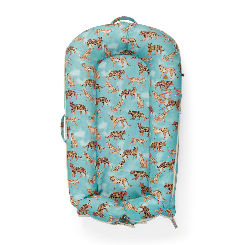 DockATot Deluxe + Plus Pod Extra Cover in Jungle Cat - Sleepyhead - The Baby Service