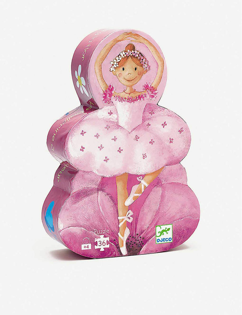 Djeco Ballerina Jigsaw Puzzle 36 Piece The Baby Service