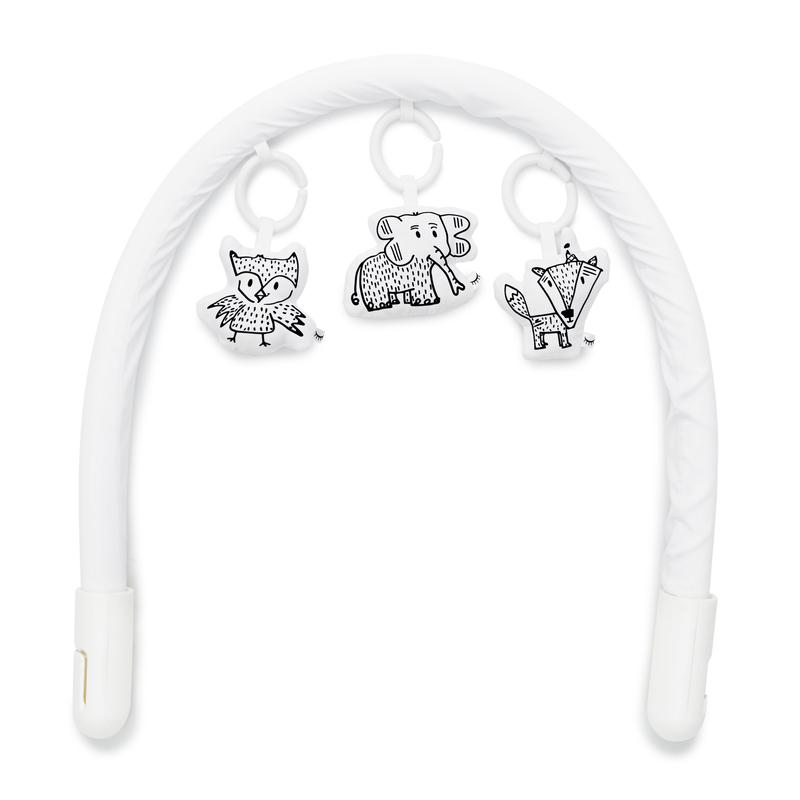 Sleepyhead Baby Mobile Toy Bar White and Cheeky Chums Bundle Set