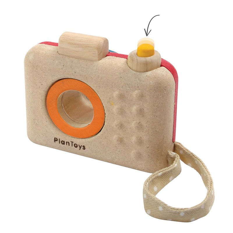Plan Toys Wooden Toddler Gifts My First Camera