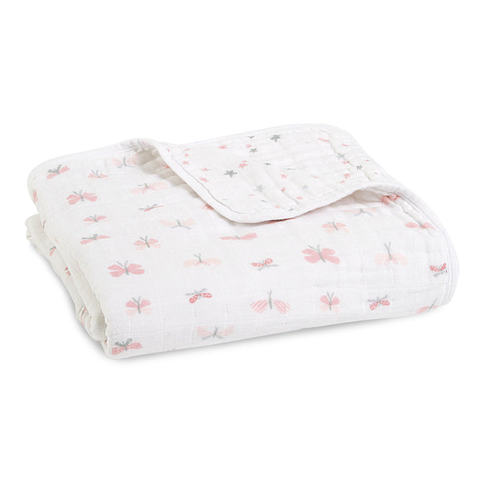 Aden + Anais Lovely Reverie Butterflies Classic Dream Blanket - The Baby Service