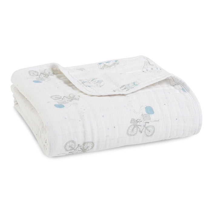 Aden + Anais Night Sky Reverie Elephants Classic Dream Blanket - The Baby Service