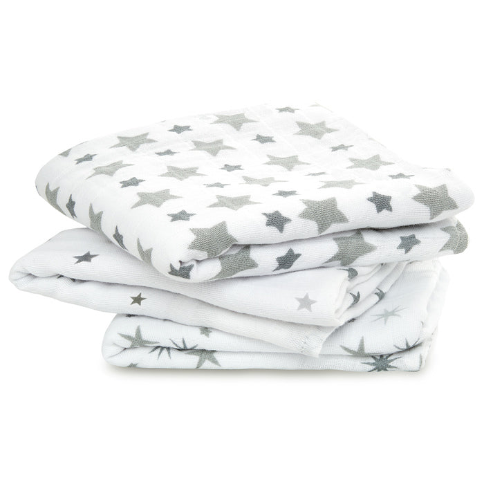 Aden + Anais Twinkle Musy Muslin Squares 3 Pack - The Baby Service